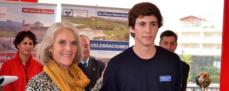 Miguel Ángel Jiménez Junior se estrena como profesional