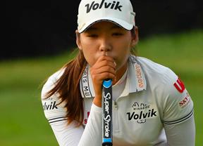 Mi Hyang Lee encabeza el dominio coreano en el Evian Championship