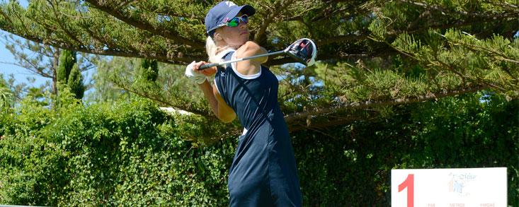 La finlandesa Elina Nummenpaa, líder con -6 en el Mijas Golf Club