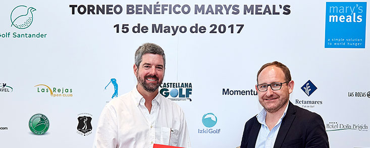 Éxito del torneo de golf a favor de Mary´s Meals