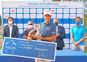 Matteo Manassero gana el Toscana Alps Open