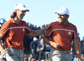 Molinari y Fleetwood salvan el honor