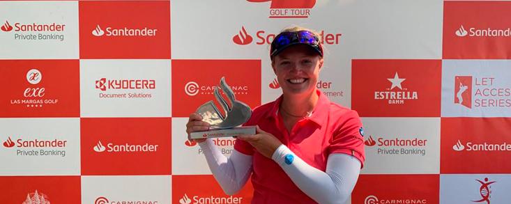 Manon de Roey campeona en Valencia con Carmen Alonso, segunda