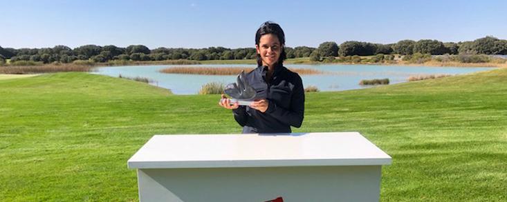María Palacios, campeona en Lerma