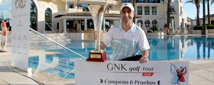 Más de medio millar de jugadores pasan por el Circuito GNK 2018 de Murcia