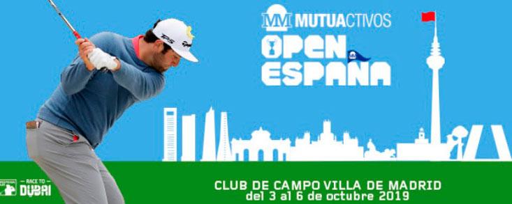 Mutuactivos, patrocinador principal del Open de España