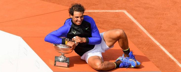 Nadal supera a Woods en Majors y está a tres de Federer, su Nicklaus particular