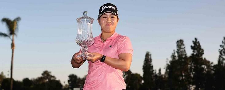 Primer triunfo para la japonesa Nasa Hataoka en el LPGA Tour