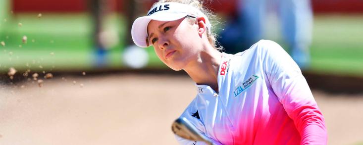 Nelly Korda toma carrerilla en Australia y se distancia con un total de -12