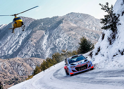 El Rallye de Montecarlo abre el mundial