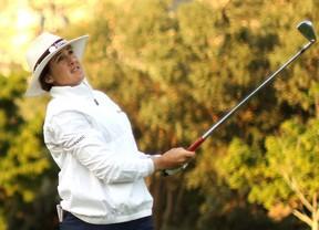 Nicole García, líder al par del campo con Folch quinta con +3