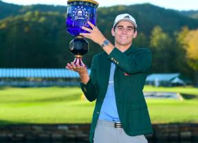 Joaquín Niemann se convierte en el primer chileno que gana en el PGA Tour