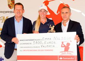 Emma Nilsson triunfa en El Saler y María Palacios acaba cuarta