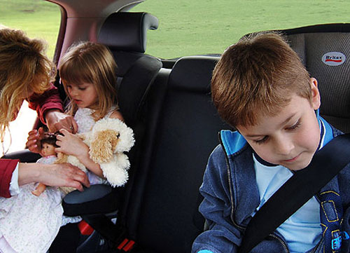 Viajes con niños: cómodos y seguros