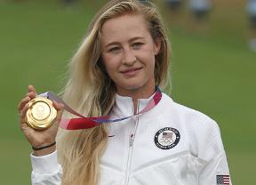 Nelly Korda cumple con lo que le pedía Schauffele y lleva a casa el oro olímpico