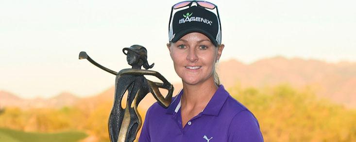 Anna Nordqvist se hace con su primera victoria del año en Arizona