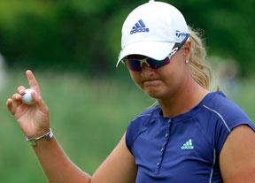 Nordqvist defiende título en Nueva Jersey en otra emocionante cita de la LPGA
