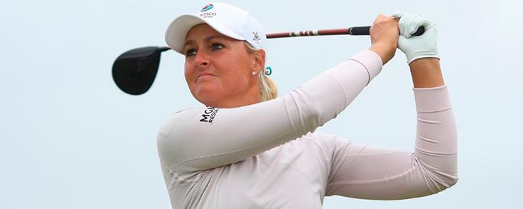 Nordqvist y Madesn líderes se postulan para ganar el AIG Women's Open