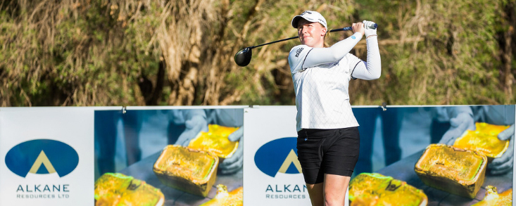 Thomson y Dryburgh empatan en el arranque del Women's NSW Open
