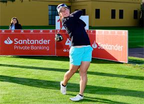 """Nuria Iturrioz: """"En el LPGA no se llega y se besa el santo"""""""