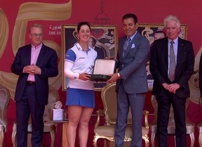 Nuria Iturrios consigue con brillantez su segundo título en Marruecos