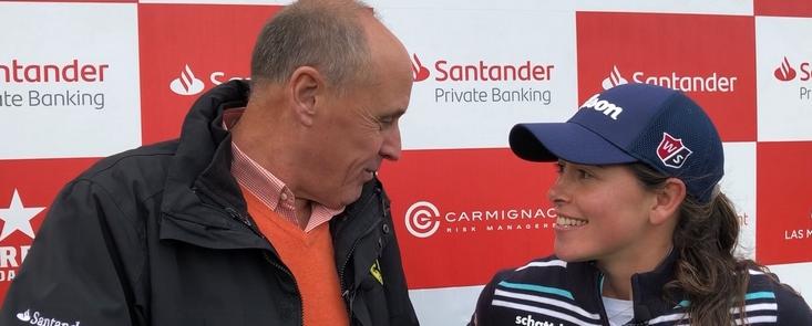 Nuria Iturrioz: 'Ha sido un gran año pero volveré el que viene para ganar el Campeonato de España'
