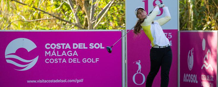 Nuria Iturrioz, contundente en el Andalucía Costa del Sol Open de España