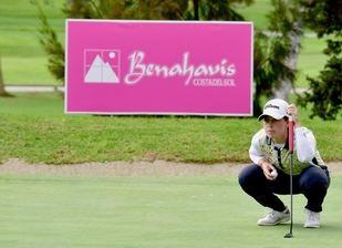 Así vuelve al campo de golf Nuria Ituirioz