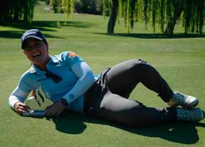 Nuria Iturrios gana en Lauro Golf tras forzar un play off con 63 golpes