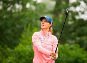 Sanna Nuutinen se une a Kyriacou en el liderato del Big Green Egg Open