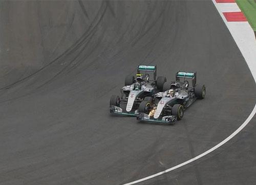 Hamilton vence en el traicionero circuito de Red Bull Ring