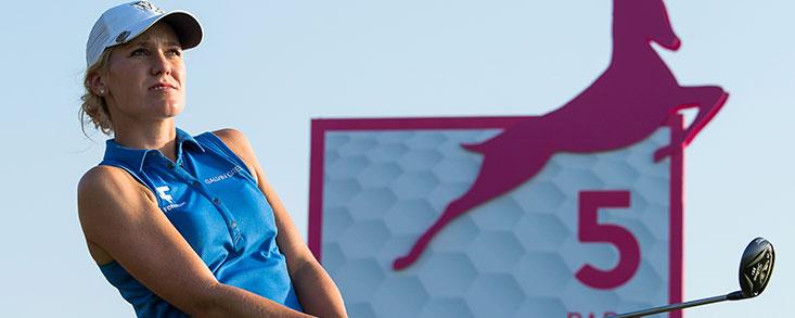 Kristinsdottir, más líder en Abu Dhabi