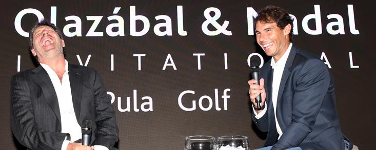 Pistoletazo de salida para el Olazábal & Nadal Invitational 2018