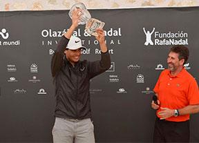 Nadal gana el duelo solidario con Olazábal