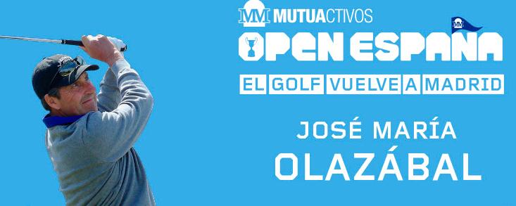 José Mari Olazábal también estará en el Mutuactivos Open de España