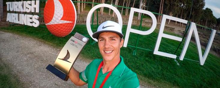 Thorbjorn Olesen culmina una gran victoria en Turquía