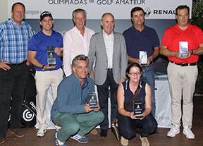 Primer gran torneo de las Olimpiadas Renault de Golf Amateur