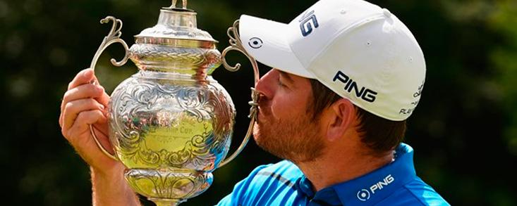 Louis Oosthuizen logra ganar en casa y suma nueve triunfos en el Tour Europeo