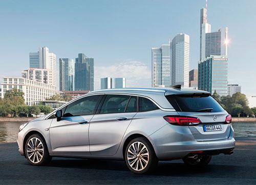 Opción familiar con el Opel Astra Sports Tourer