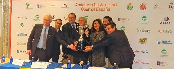 La Costa del Sol acoge por tercer año consecutivo el Open de España
