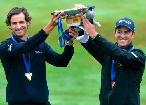 Pedro Oriol y Scott Fernández consiguen el oro en los Juegos Europeos de Glasgow