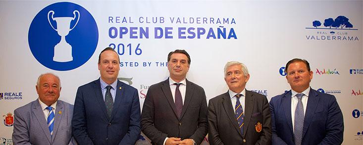 Valderrama ya respira Open de España