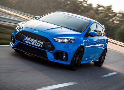 Prestaciones en tráfico abierto con el Ford Focus RS