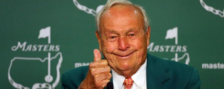 Arnold Palmer, el adiós más duro del año