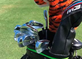 Tiger Woods ya tiene sus nuevos hierros TaylorMade