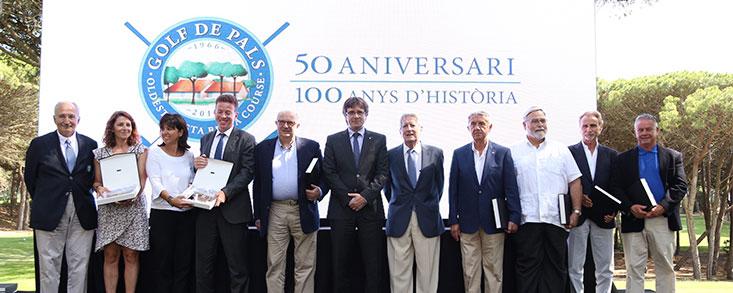Golf de Pals celebra su 50 aniversario
