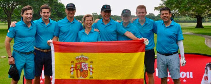 España recupera el torneo tras ganar al equipo panameño por cuatro puntos