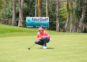 Pep Anglés, el mejor español en Izki Golf a seis golpes de la cabeza