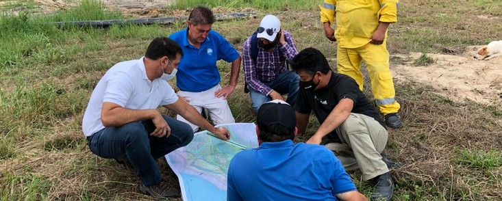Marco Martín diseña y supervisa las obras de Golf del Chaco, en Paraguay