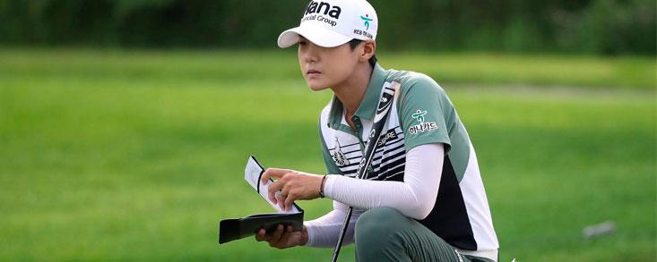 Sólo Carlota Ciganda (-2) aguanta el tirón de la líder Sung Hyun Park